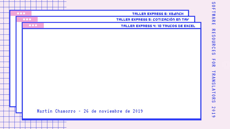 Fondo Taller Express 4 - Excel - SR4T