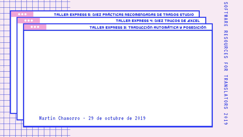 Fondo Taller Express 3 - MT y posedición - SR4T