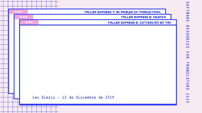 Fondo Taller Express 5 - Cotización en TAV - SR4T