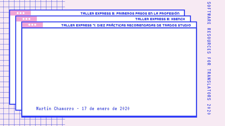 Fondo Taller Express 7 - PR Trados Studio - SR4T
