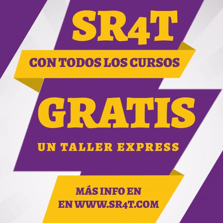 Promo SR4T web y capacitaciones abr 2020 - GRATIS