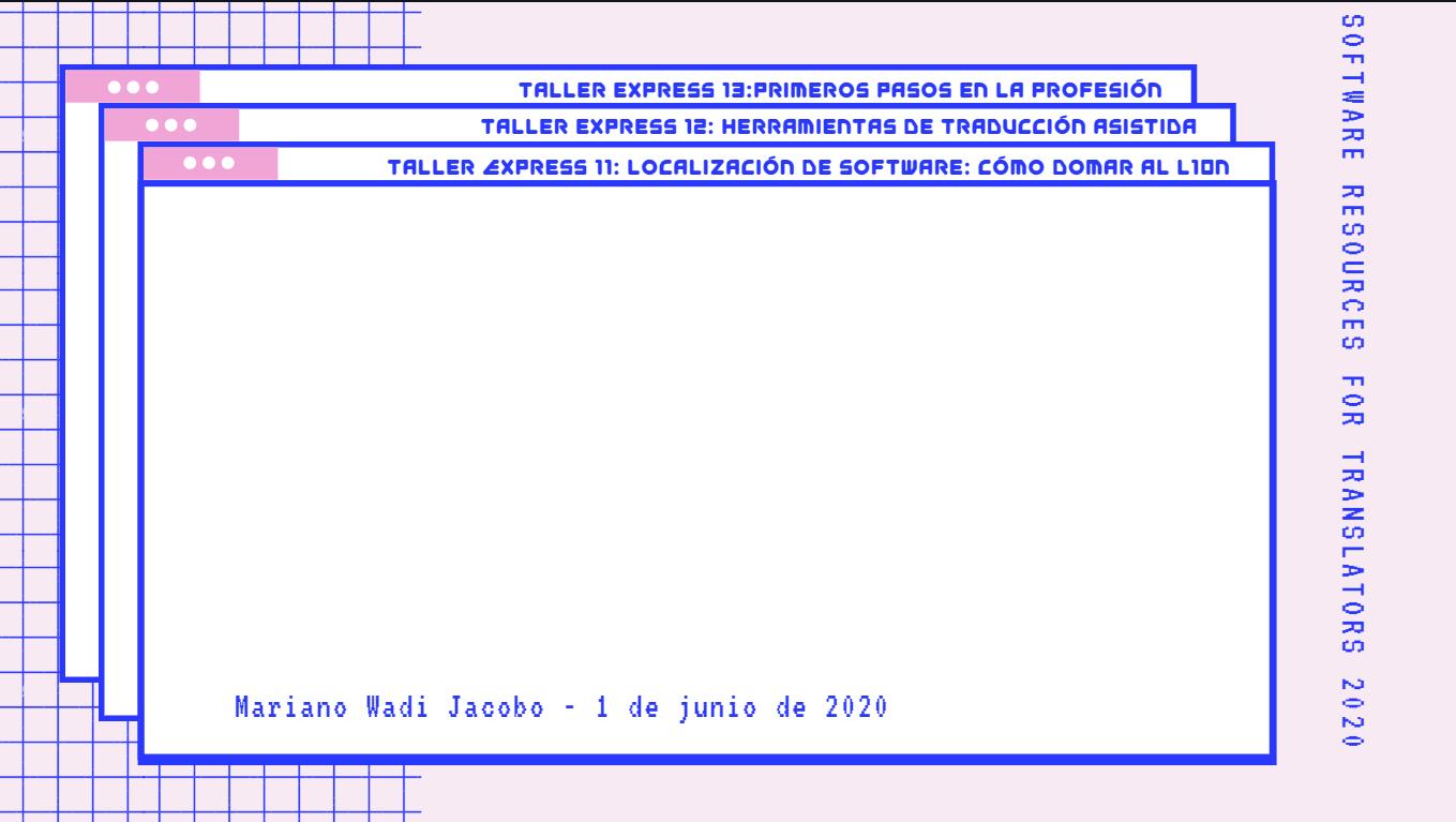 Fondo Taller Express 11 - Localización - SR4T