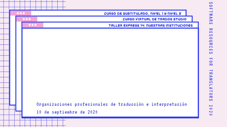 Fondo Taller Express 14 - Nuestras instituciones - SR4T