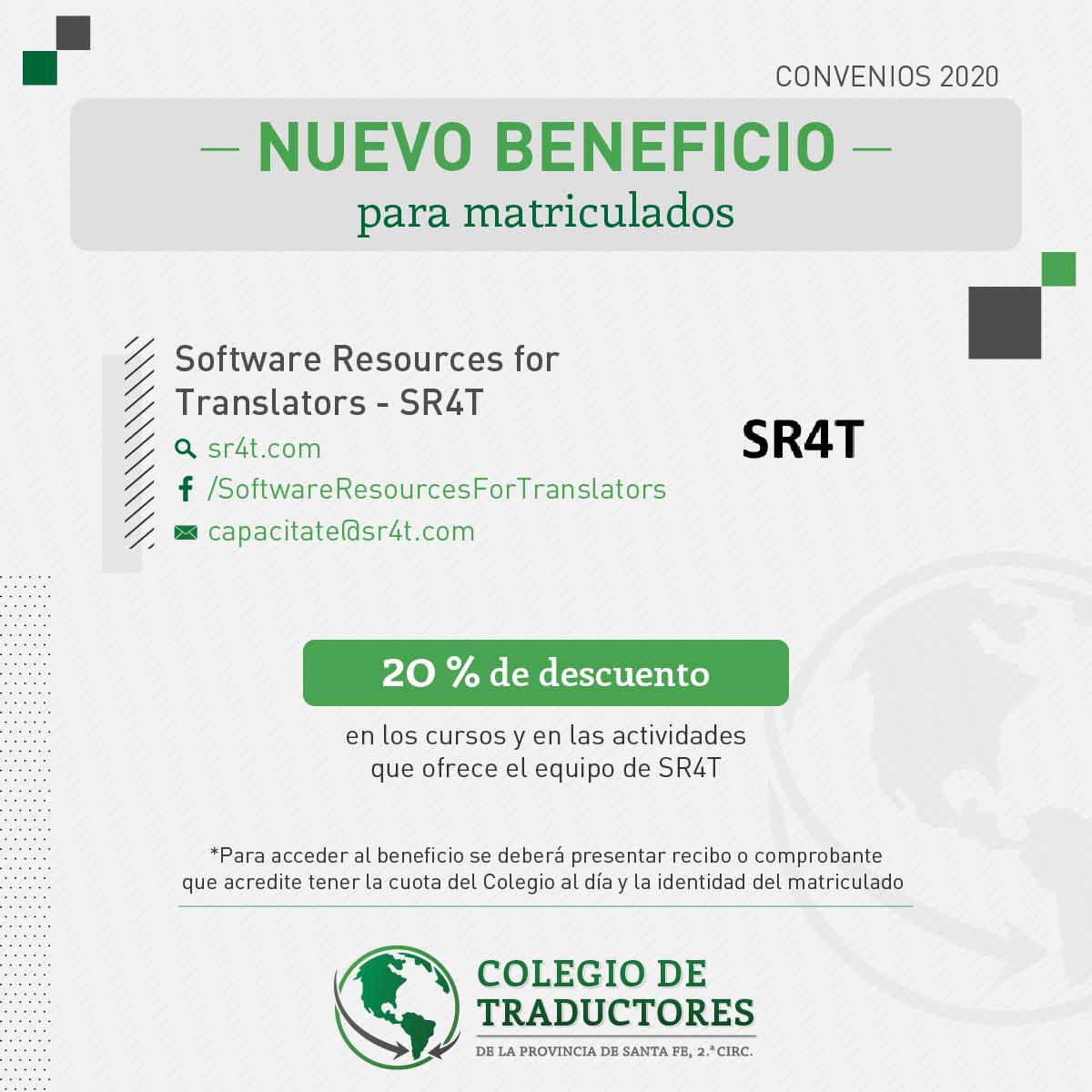 Convenio CTPSFR-SR4T